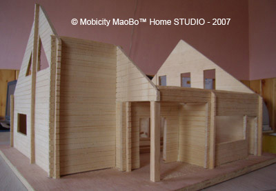 maquettemadrierjpg - Maquette Maison A Construire